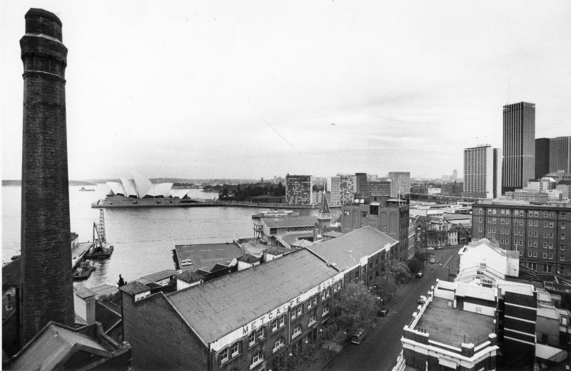 View of Metcalfe Stores to Opera House