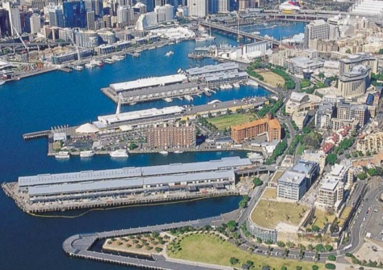 Pyrmont Ultimo aerial